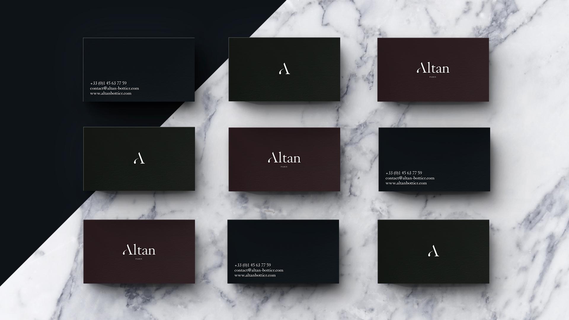 Plateforme de marque & Identité - Altan Bottier - agence Les ...