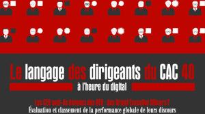 Le langage des dirigeants à l'heure du digital