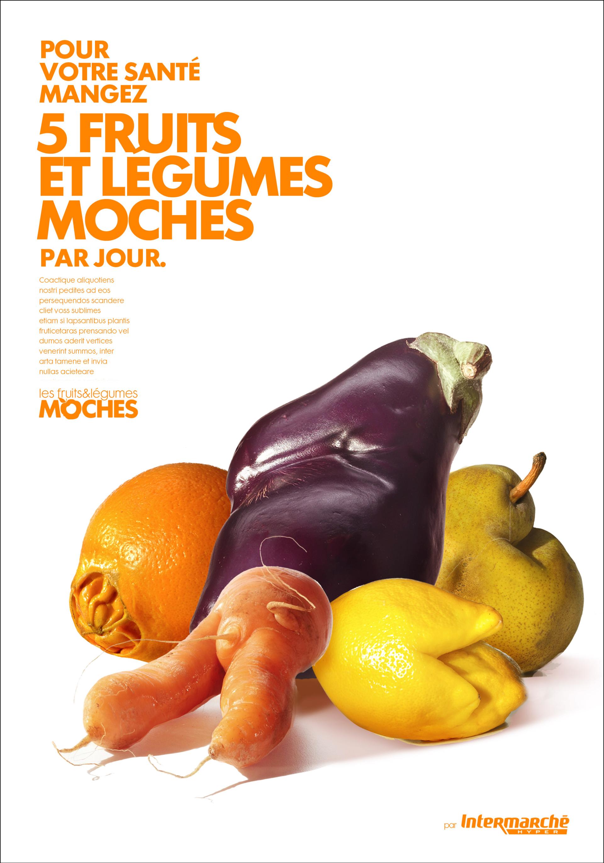 les fruits et l u00c9gumes moches - intermarche
