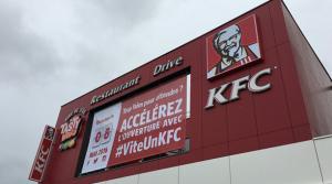 Le social media accélère l'ouverture des restaurants KFC