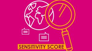 Le sensivity score d'un débat dans l'espace médiatique