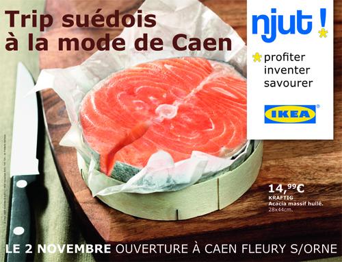 Ouverture Ikea Caen Ikea Agence Hemisphère Droit