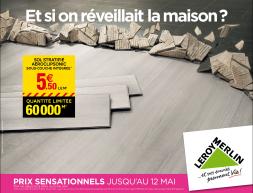 campagne d 39 affichage nationale leroy merlin agence p ol o. Black Bedroom Furniture Sets. Home Design Ideas