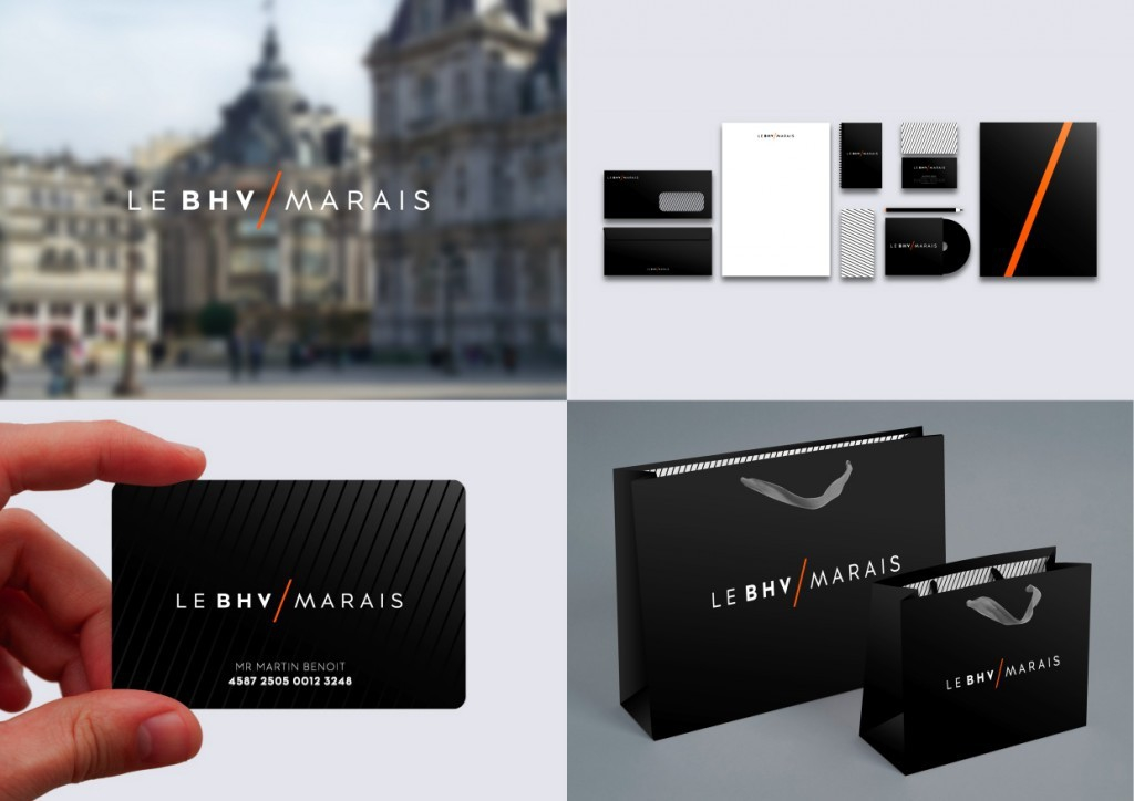 bhv marais packaging marque design le bhv marais agence royalties. Black Bedroom Furniture Sets. Home Design Ideas