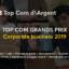7 Prix pour notre agence aux Grands Prix TOP/COM Corporate Business