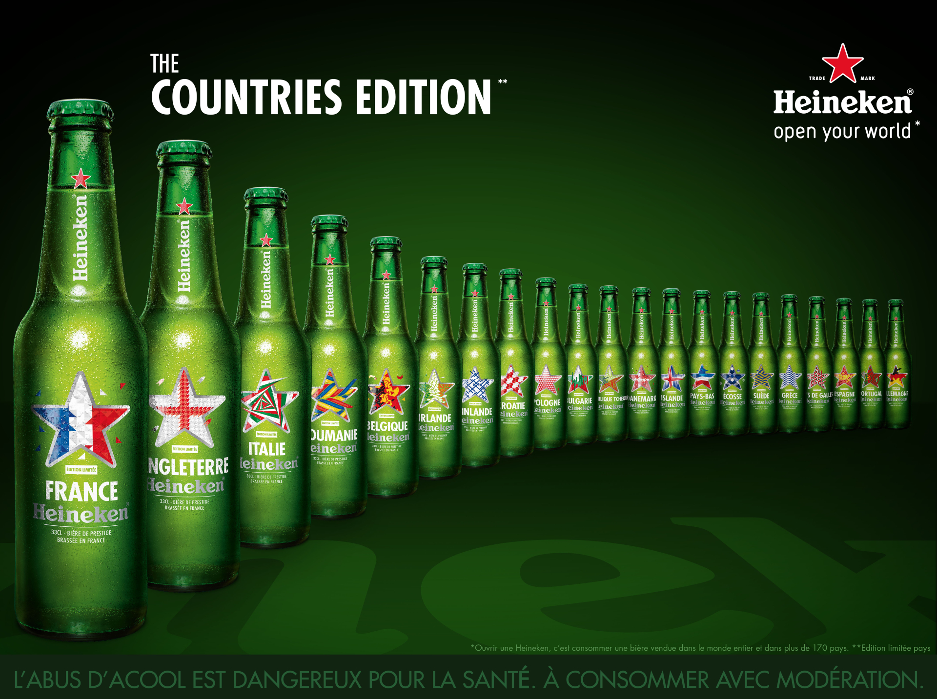 countries edition - design - heineken