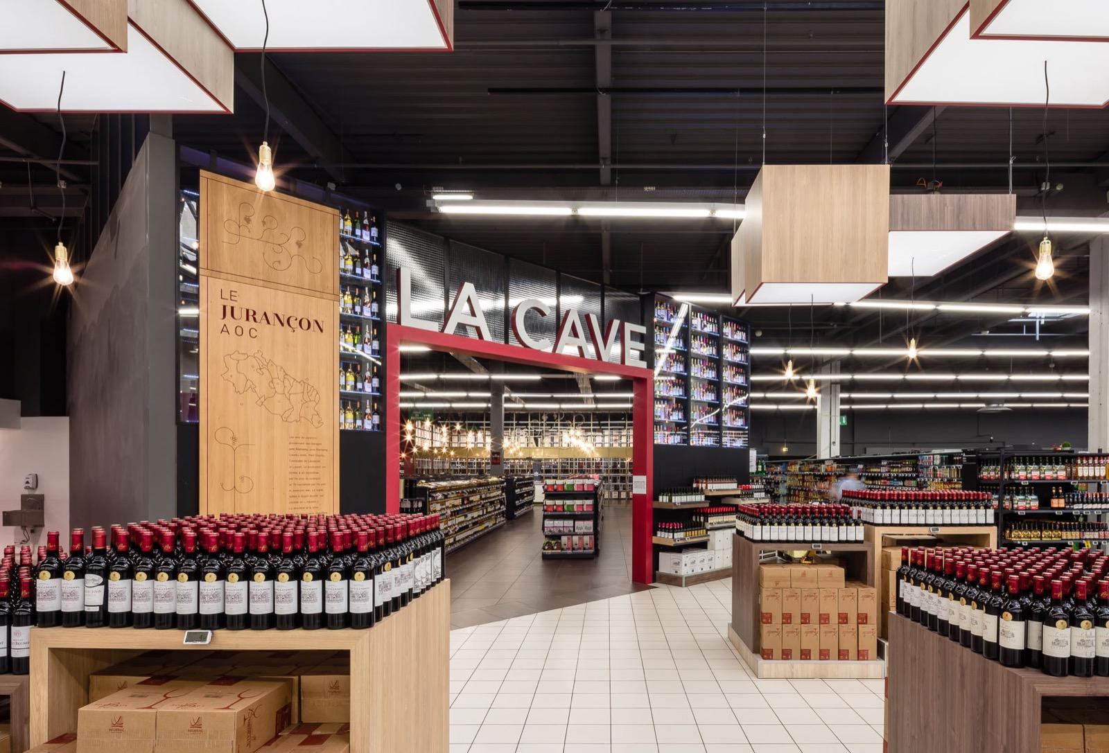 retail branding e leclerc pau agence dragon rouge. Black Bedroom Furniture Sets. Home Design Ideas