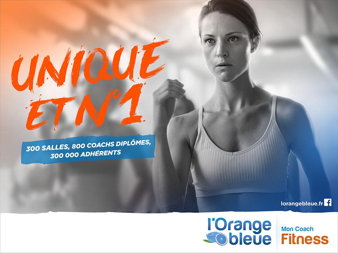 Le groupe l orange bleue est num ro 1 du fitness avec for Orange bleue
