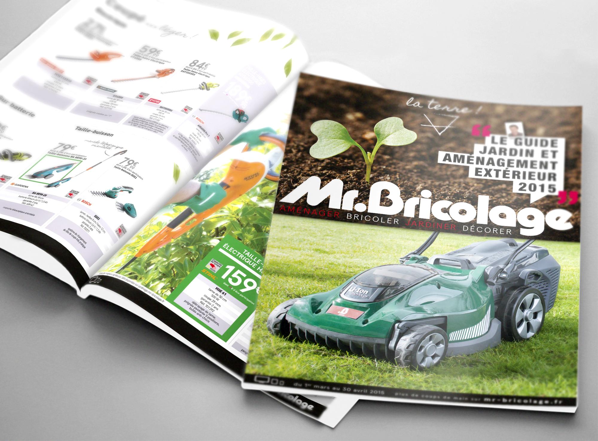 Guide th matique saisonnier ligne graphique catalogue - Mr bricolage strasbourg ...
