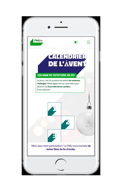 Calendrier Avent Pmu.Mini Site Calendrier De L Avent 2017 Agence Eficiens