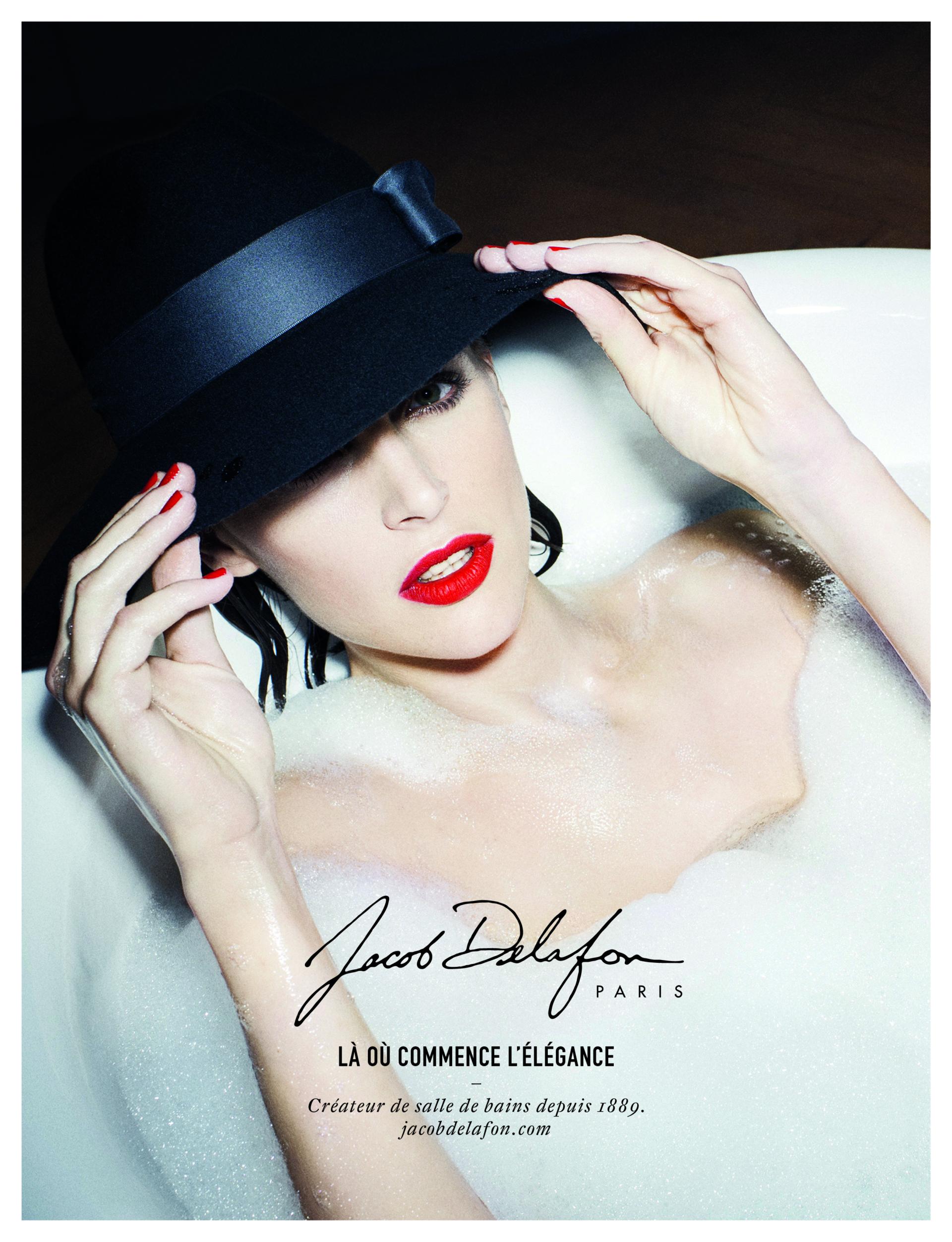 brand content jacob delafon l elegance a la francaise agence mullenlowe paris. Black Bedroom Furniture Sets. Home Design Ideas
