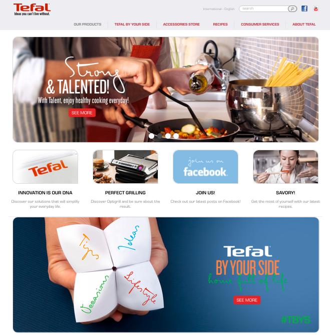 Le site Tefal