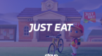 Just Eat x Animal Crossing